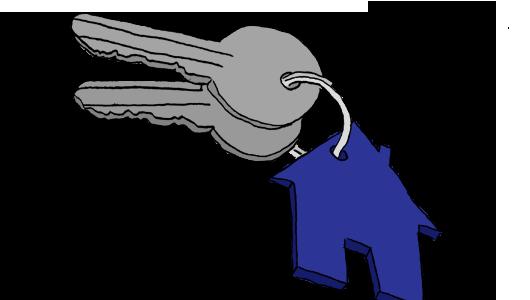 Schlüsselfertiges Bauen Zeichnung